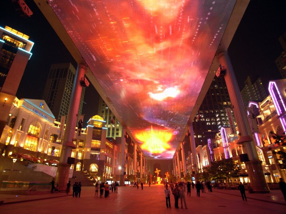 """""""An Arena in The Air"""" – World's Largest Digital Signage Display"""