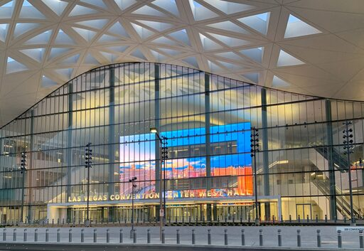 """Convention Center that obtain the """"LARGEST"""" Video Wall in U.S.A at Las Vegas Convention and Visitors Authority (LVCVA)"""